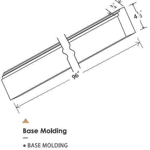 BASE MOLDING
