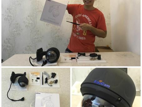 Social Influencer's  Sharing: Why I install a surveillance camera at home?