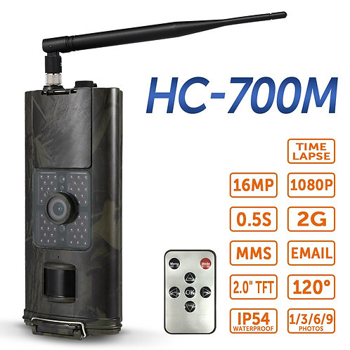 16MP 2/3g SMS Hunting Camera Outdoor Trail Camera Wildlife Scouting Photo Traps