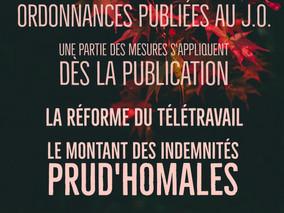 Ordonnances Publiées au J.O.