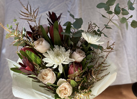 Native and Rose bouquet