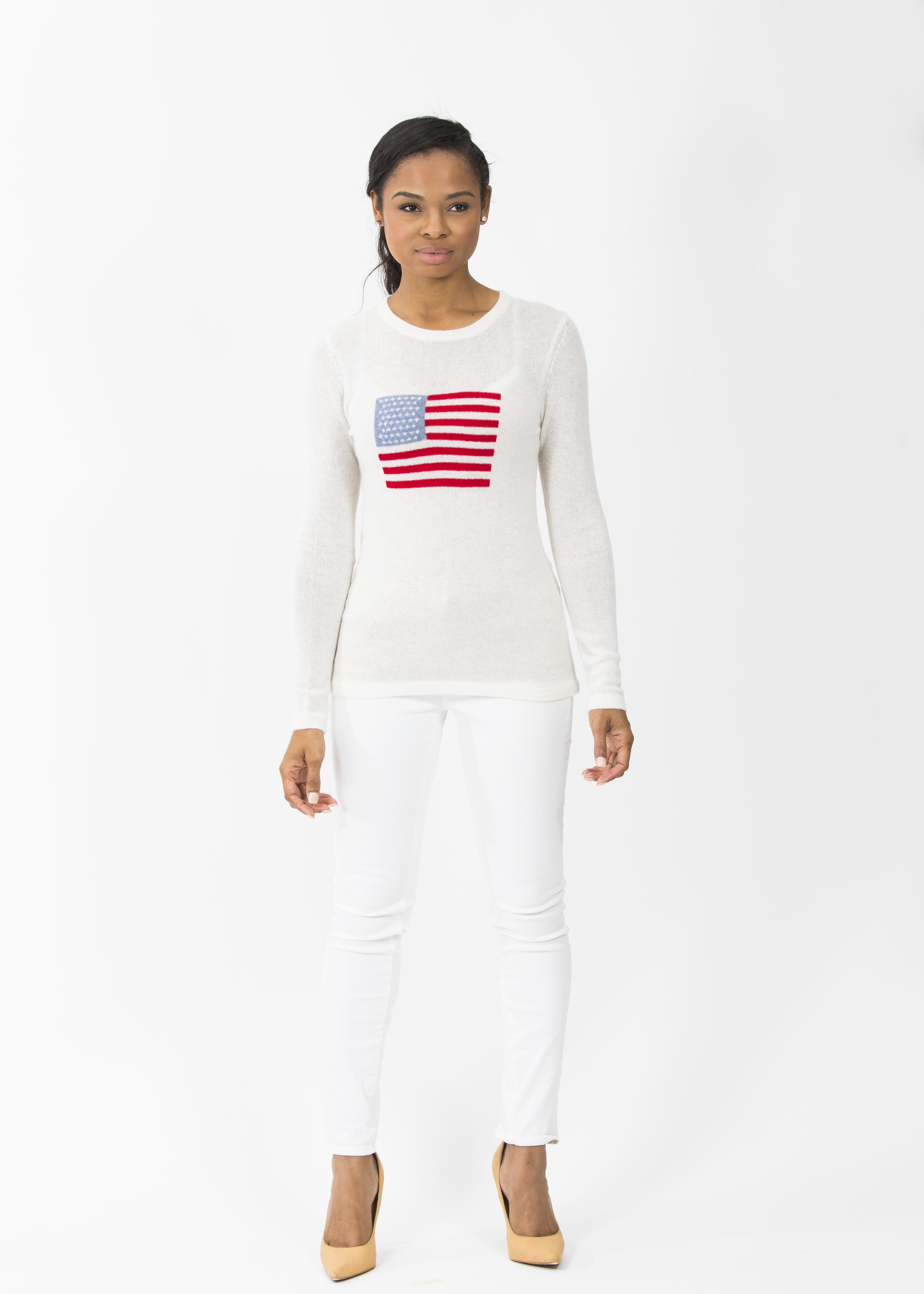 FlagIntarsiaSweater