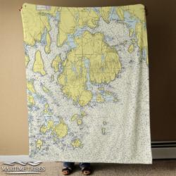 Maritime Tribes Blanket full size