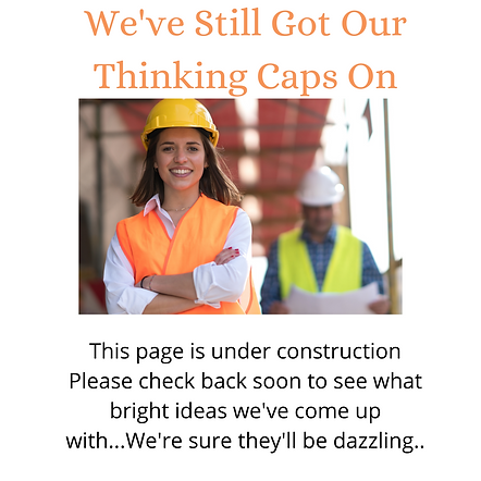 We've Still Got our Thinking Caps on  (1