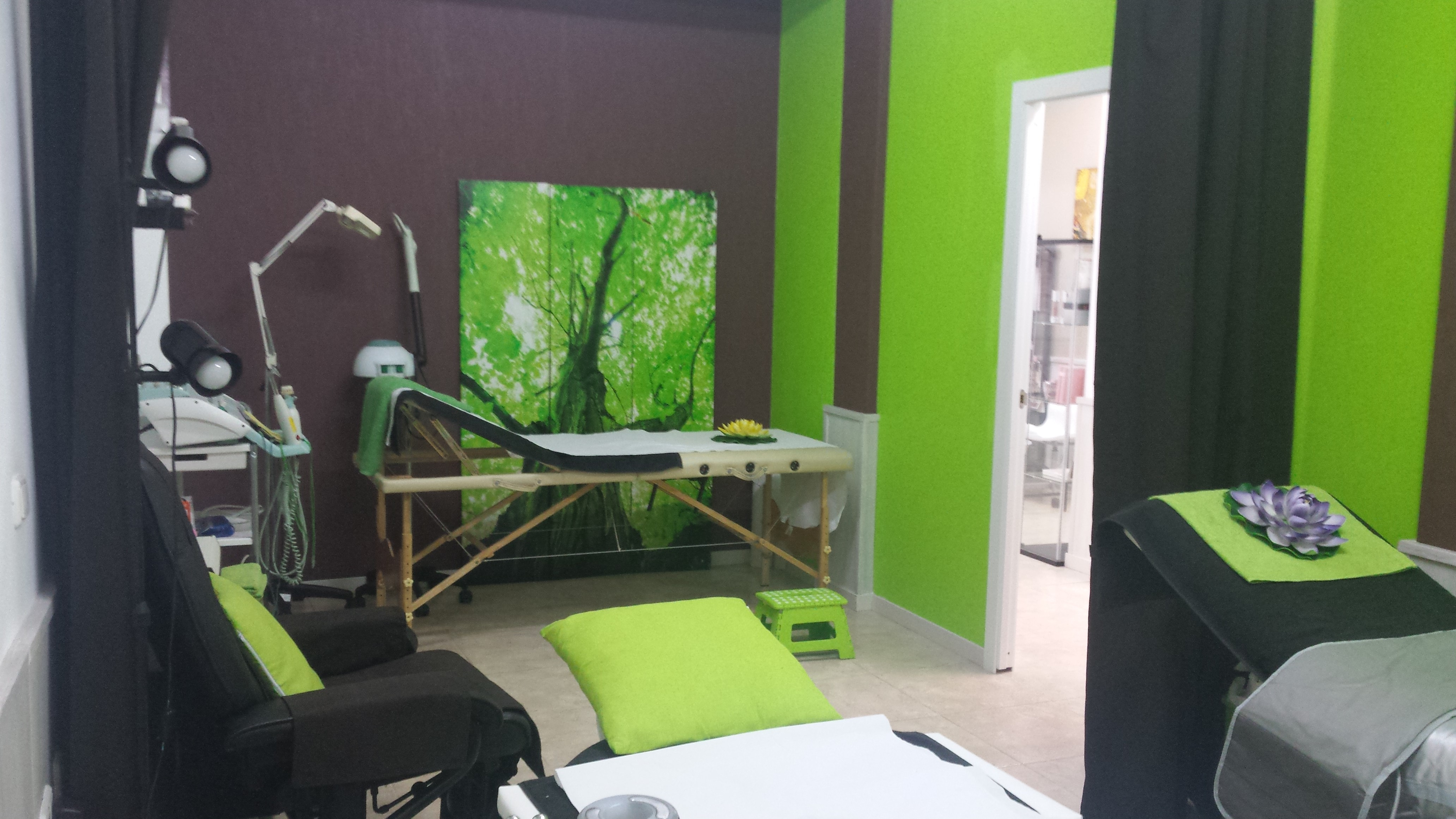 Cabina verde corporal