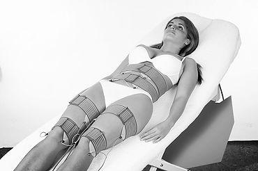 electroestimulación corporal, tonificación, glúteos, abdomen, piernas, gimnasia, pasiva.