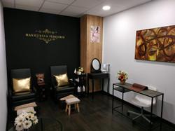 Sala de manicura, pedicura y maquillaje