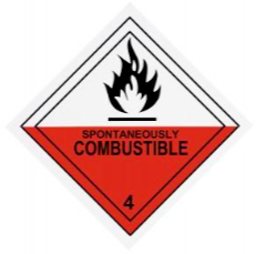 Spontaneously Combustible symbol.png