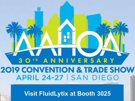 FluidLytix Showcases Water Management and Efficiency Solution at AAHOA Convention & Trade Show 2019