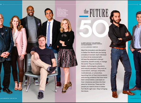 Damir Perge, FluidLytix CEO named as one of The Future 50 Innovators and Disruptors in DFW