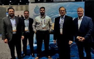 The FluidLytix Team at AAHOA 2019 in San Diego