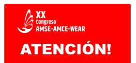 CANCELACIÓN DEL CONGRESO: Mensaje a los participantes del XX Congreso AMCE cuya realización estaba p