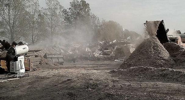 landfill odor control