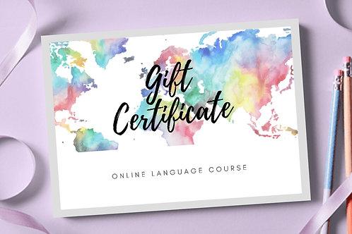 Group Language Course
