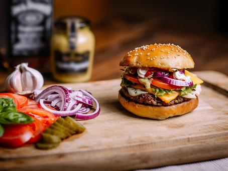 Protein Rice & Mushroom Burger