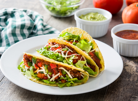 Quick Chik'n Tacos with Cashew Butter