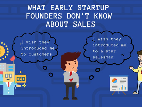What startup founders don't know about sales