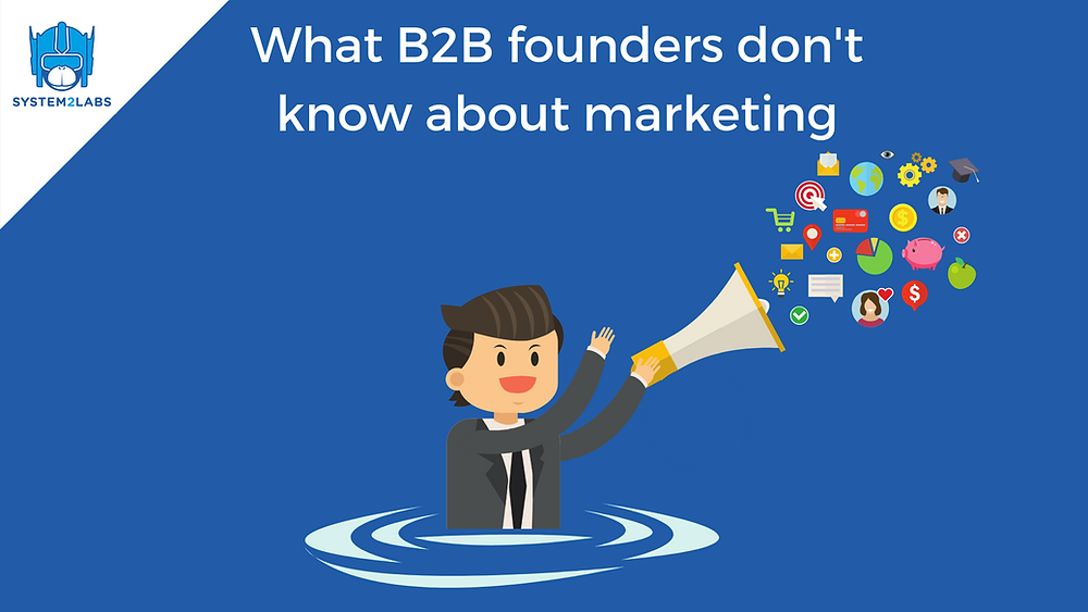 B2B marketing for startup founders