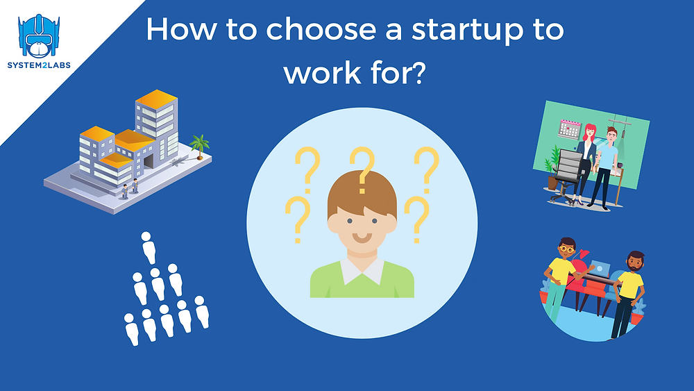 How to choose a startup to work for, seed, series A, series B, series C