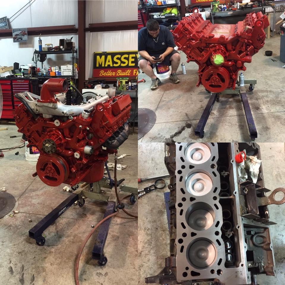 6.0 Powerstroke Engine Build