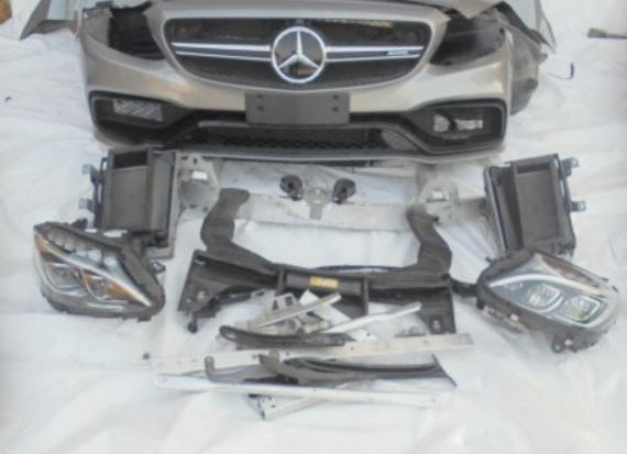 Face avant complete MERCEDES W205 63 AMG S