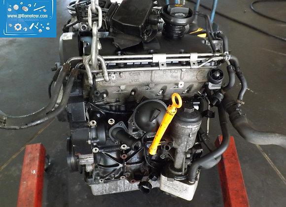 Moteur complet VW POLO 1.9 TDI BLT