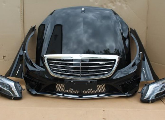 Face avant complete MERCEDES S63 AMG W222 AEPSPIECES