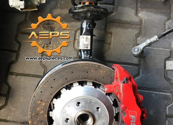 Disques complet avant+suspensions gauche et droite AUDI RS3