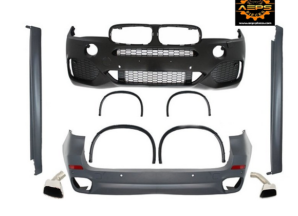 Full bumper front and rear BMW F15 M