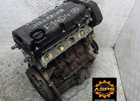 CHEVROLET AVEO 1.4 F14D4 bare head motor block