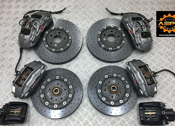 Brakes Ceramic complete AUDI R8 4S