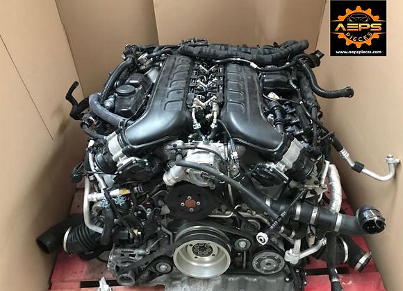 Complete engine BENTLEY Bentayga 6.0 V12