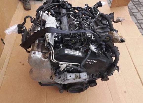 Moteur complet VW PASSAT B8 1.6 TDI DCX