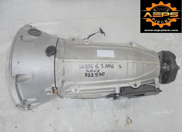 Boite de vitesses auto MERCEDES W205 4.0 V8 AMG S 722930
