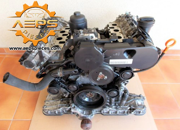 Bare engine block cylinder head AUDI 2.7 TDI BPP