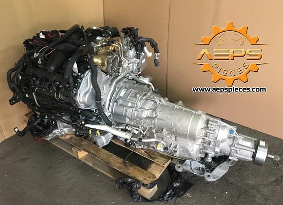 Moteur complet AUDI RS6 4.0 TFSI CWU + boite 8HP-55