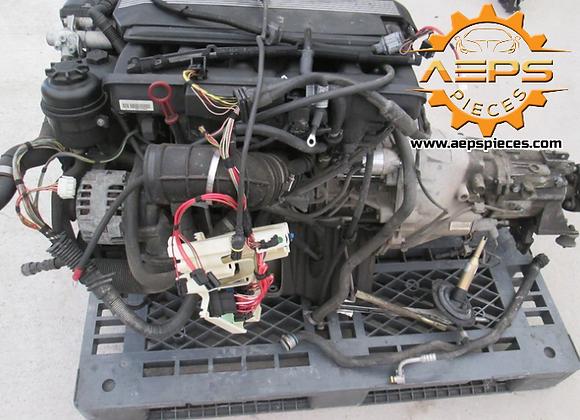 Moteur complet + boite BMW M3  E30 E36 S50B30 SWAP