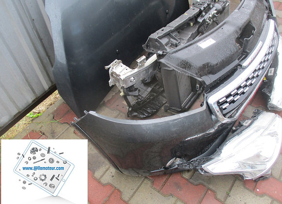 Face avant  Peugeot 208 GTI