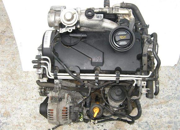 Moteur complet VW AUDI 1.9TDI BKC