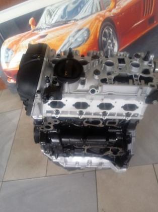 Bare block cylinder head AUDI 1.8 TFSI CAB