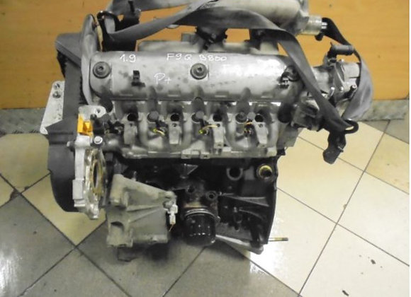 Engine block with cylinder head RENAULT SCENIC II 1.9DCI F9QB800