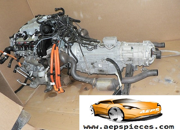 Moteur complet + Boite VW TOUAREG HYBRIDE 7P CGE