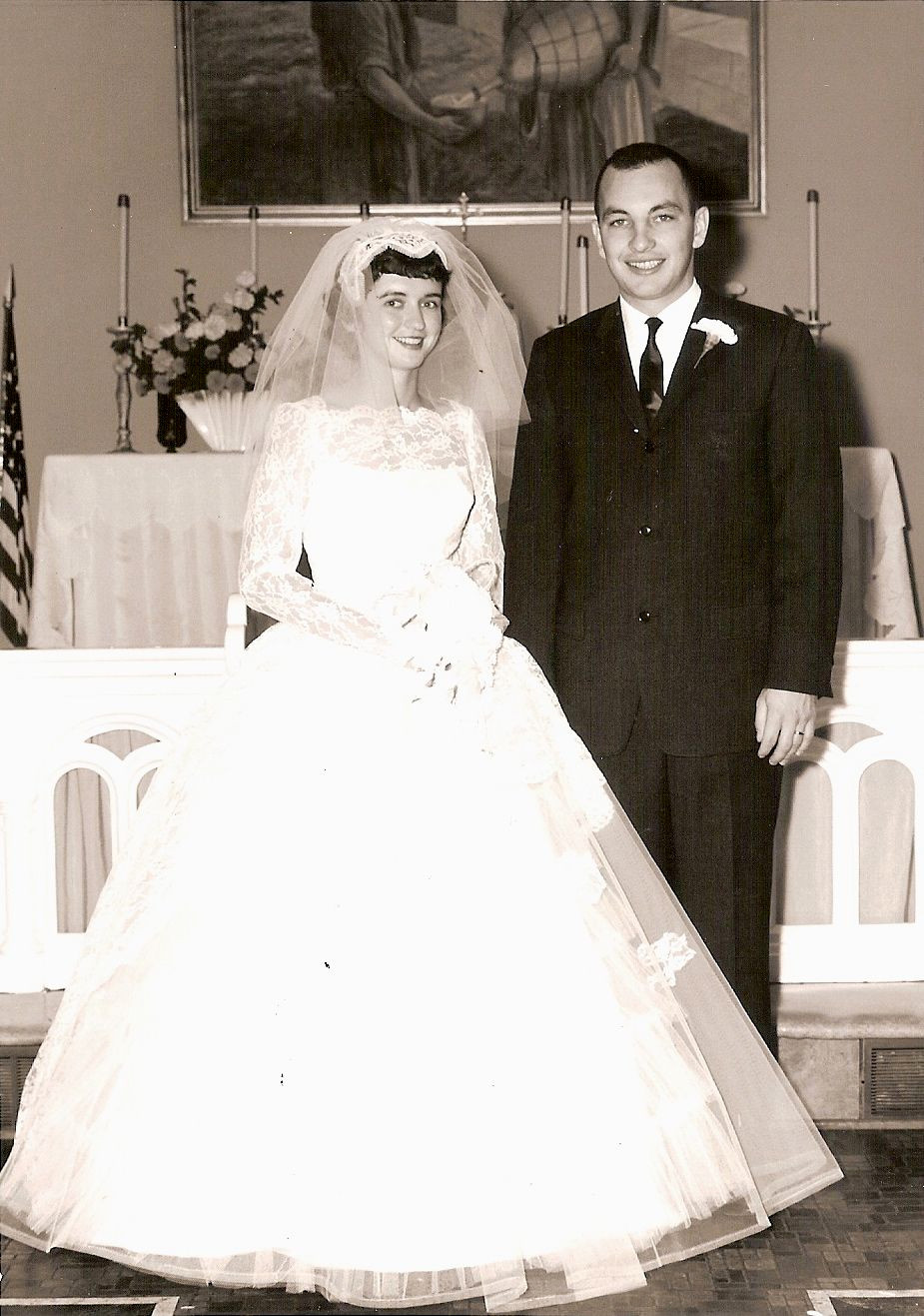 Janet and Jerry Hoffey | October 1, 1960