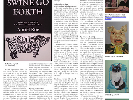 Swine reviewed in the top magazine for international schools!