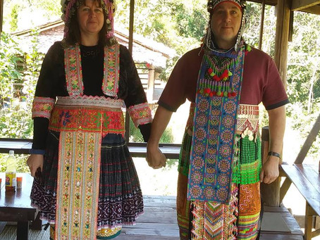 getting married, Thai tribe style