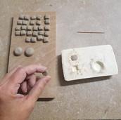 Fabrication de boucles d'oreilles