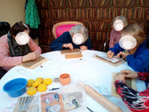 Cours poterie en EHPAD