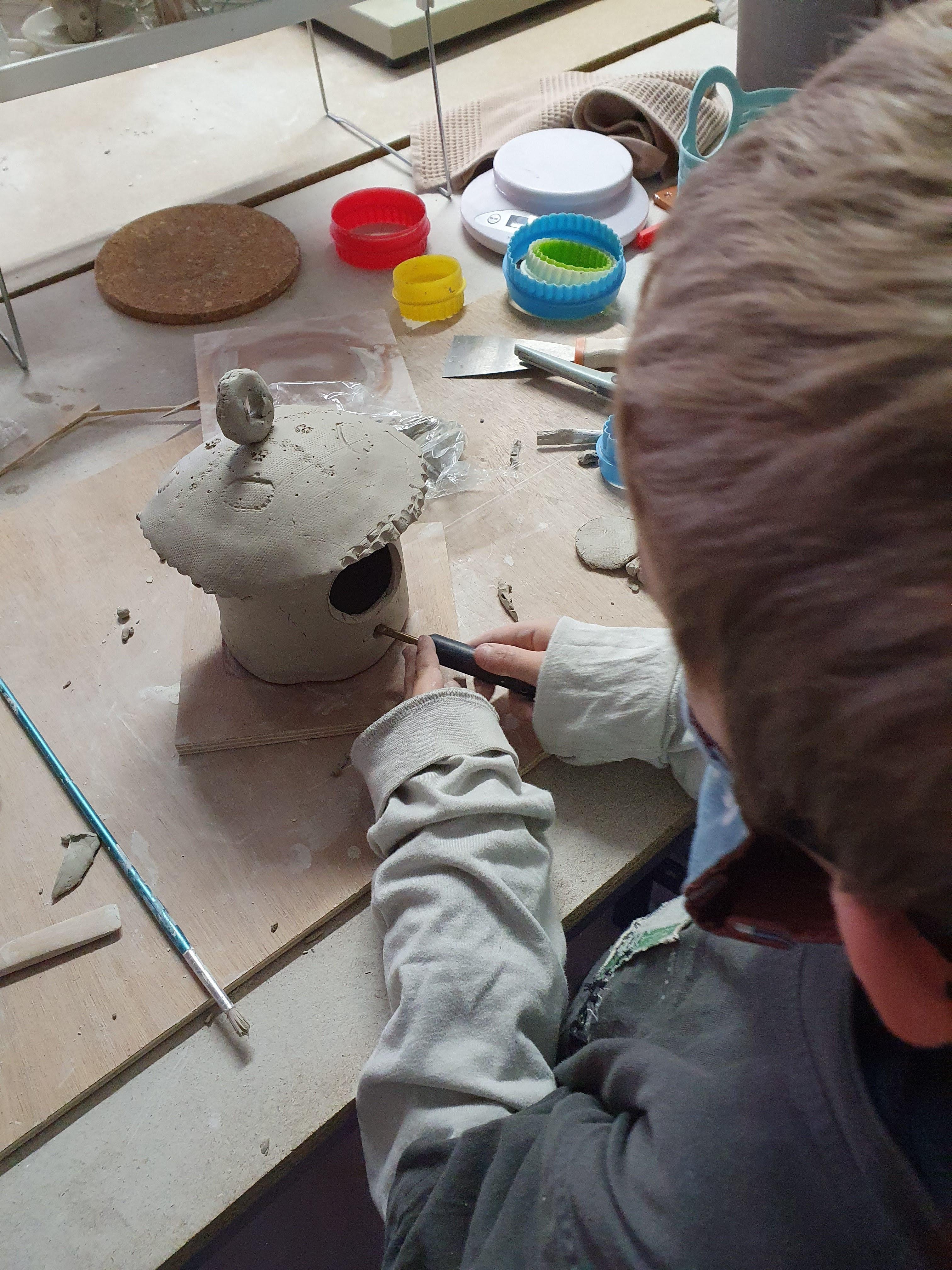 Cours céramique enfants