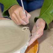 Fabrication d'une assiette Isavé