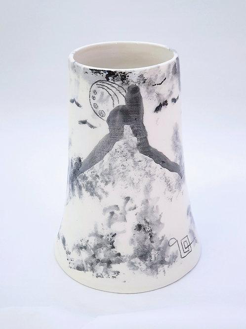 "Vase collection ""Impressions"" Noir"